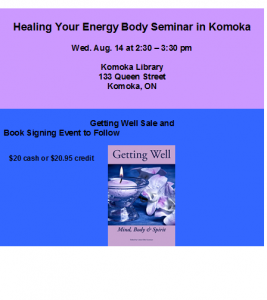 Healing Your Energy Body in Komoka