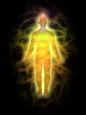 Man – energy body – aura