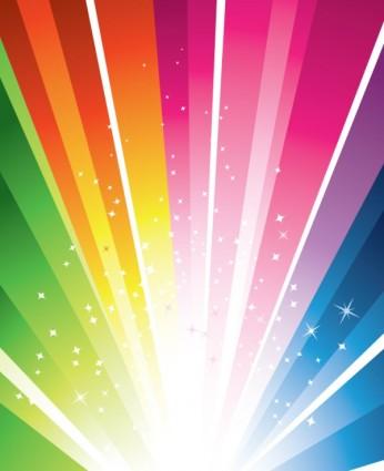 bright coloured light
