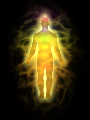Man – energy body – aura