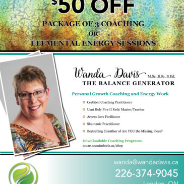 Generating Balance in Your Life and Winter Special