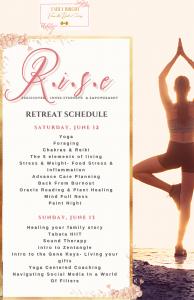 Rise schedule